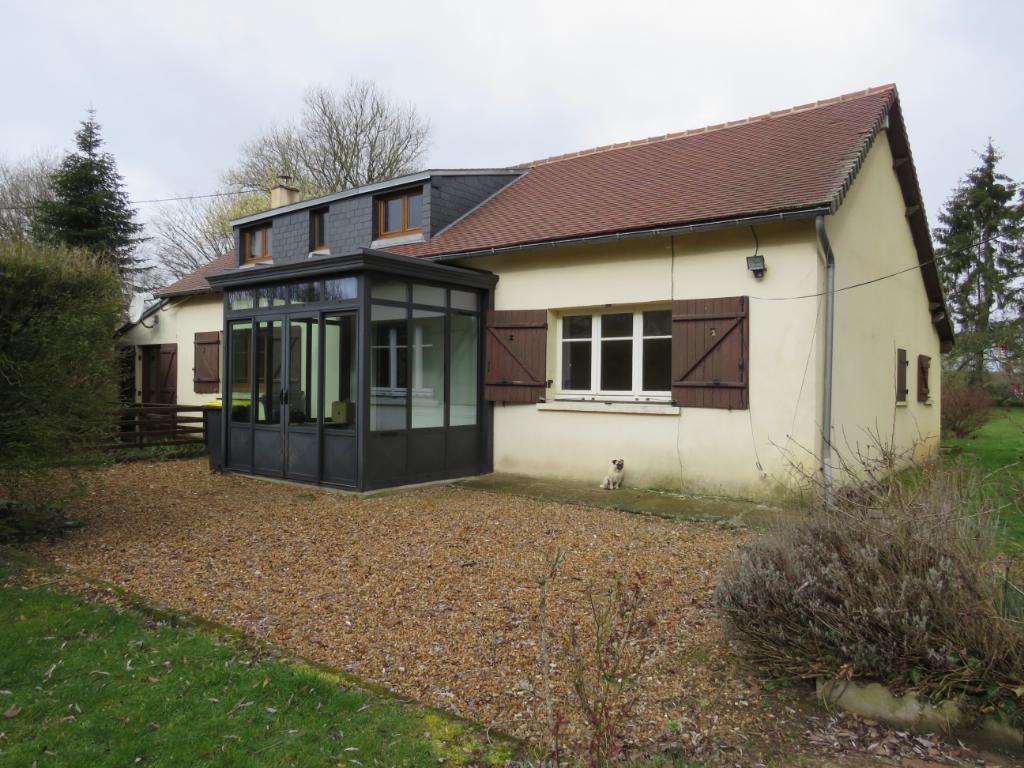 Maison de 122 m² hab, sur terrain de 2.965 m²